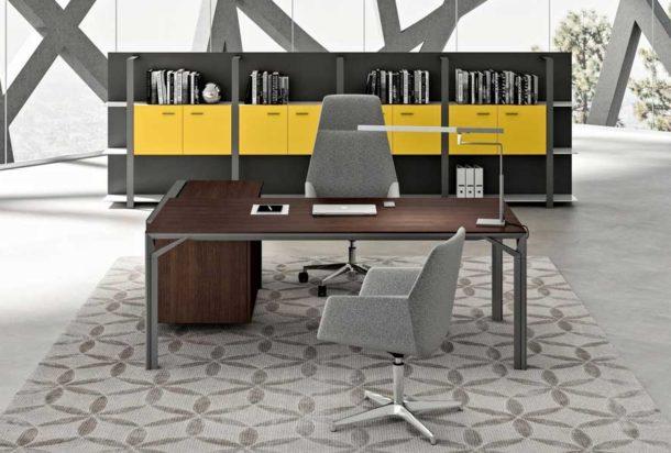 scrivania direzionale Quadrifoglio