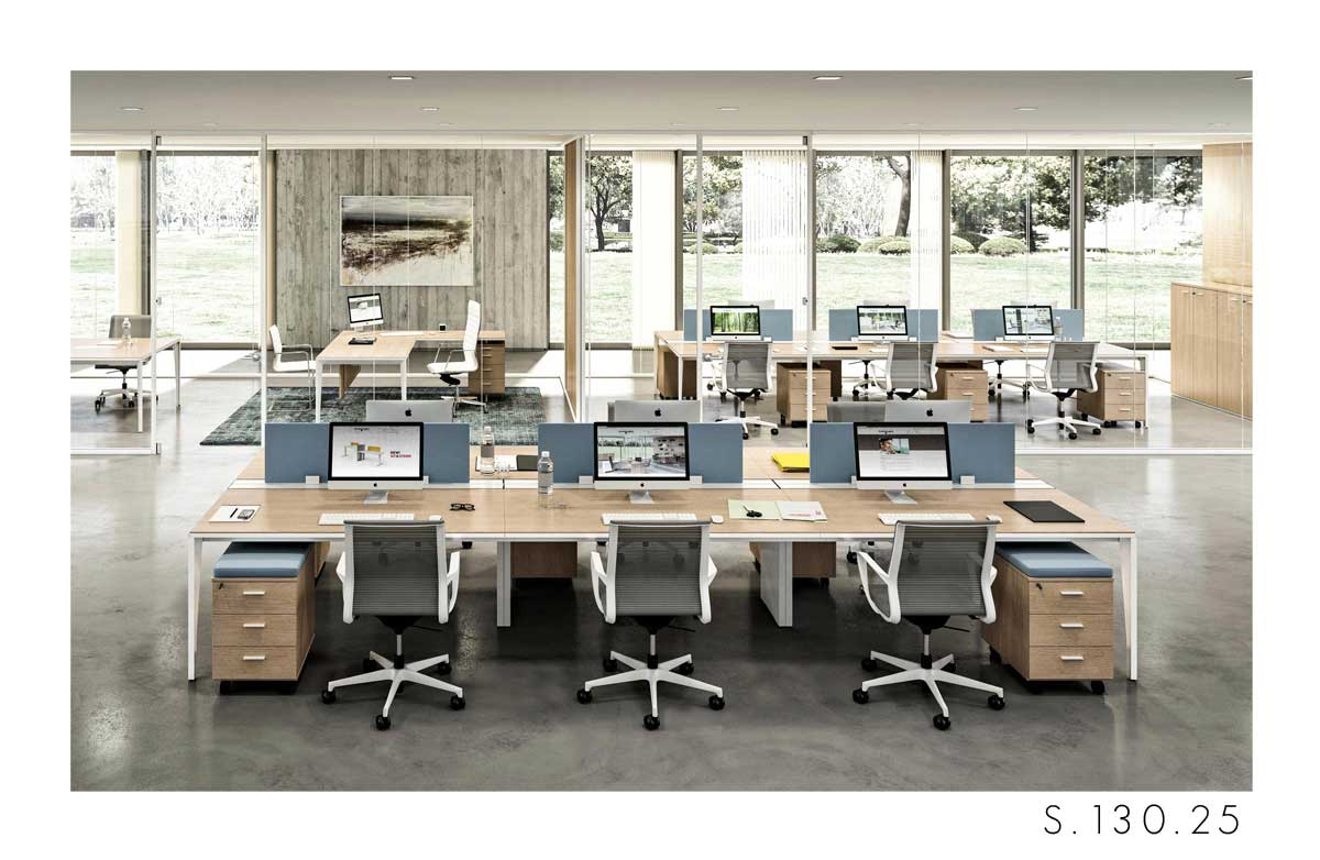 scrivania Quadrifoglio