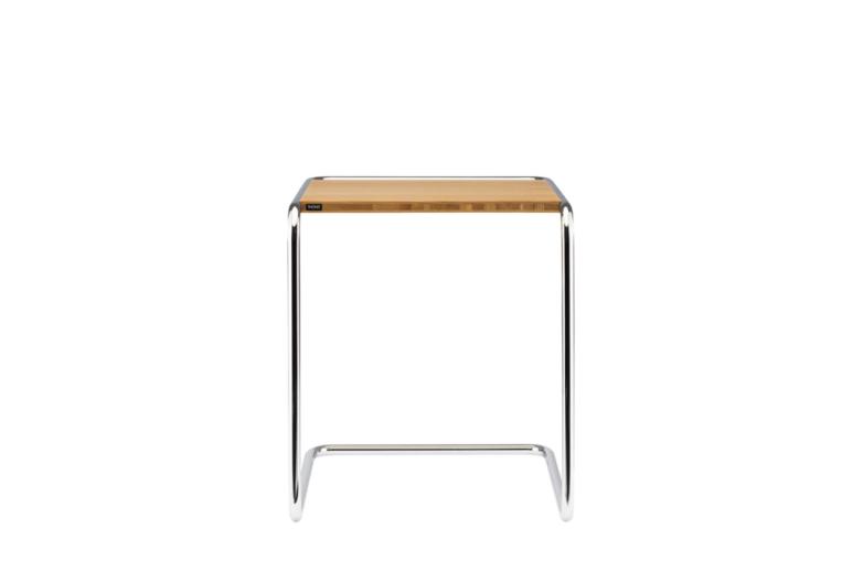 thonet tavolo tubolare curvato design