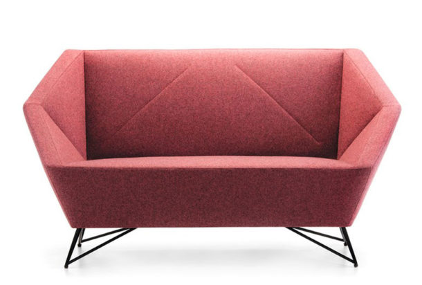 Prostoria 3angle sofà divano attesa
