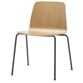 inclass seduta seduta base 4 gambe in legno
