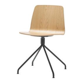 inclass seduta seduta base su trespolo in legno