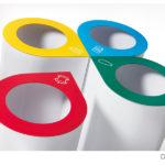 made design davos raccolta differenziata cestini getta carta