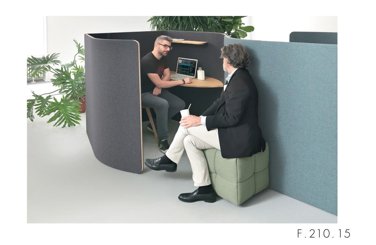 Martex Nucleo temporary work cabina fonoassorbente