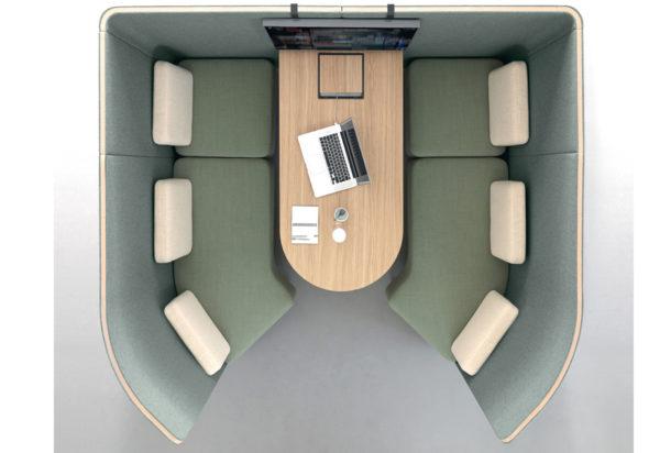 Martex Nucleo Meeting cabina fonoassorbente