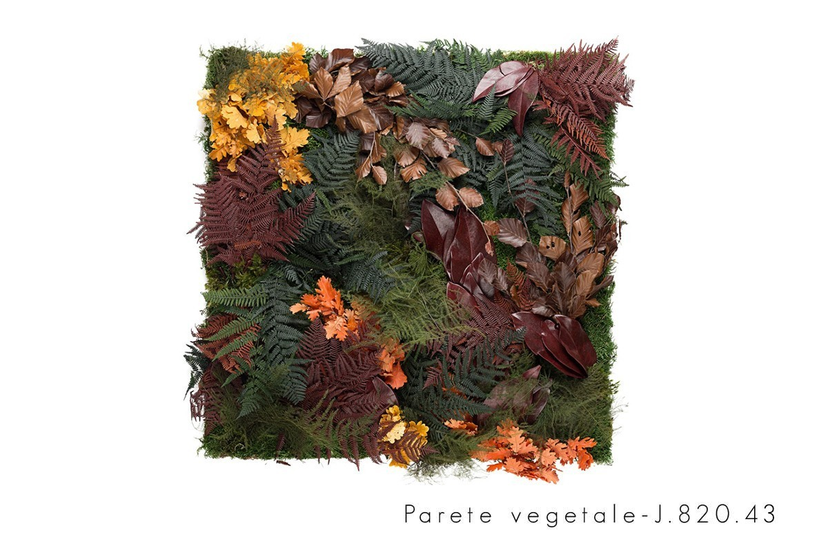 Linfa decor parete vegetale
